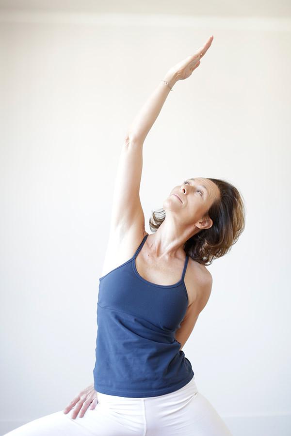 Valerie enseigne le yoga à Strasbourg