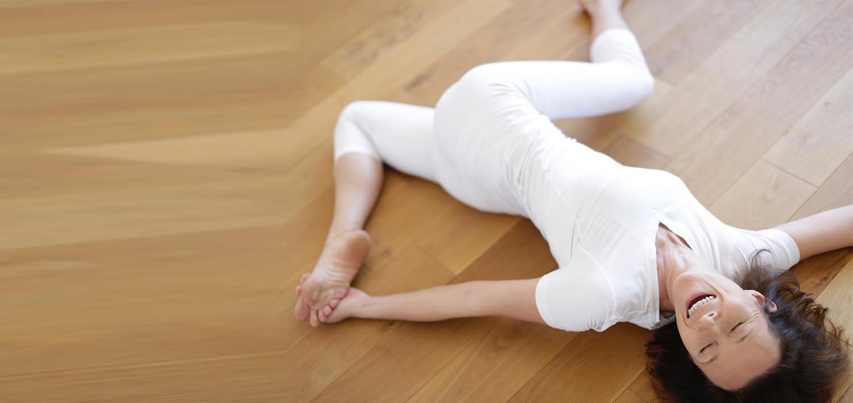 Valerie prof de yoga à Strasbourg